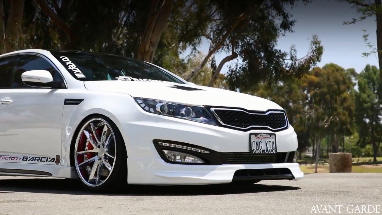 2015 Kia Optima Rims >> Kia Optima On 20 Avant Garde F431 Ag Wheels Youtube