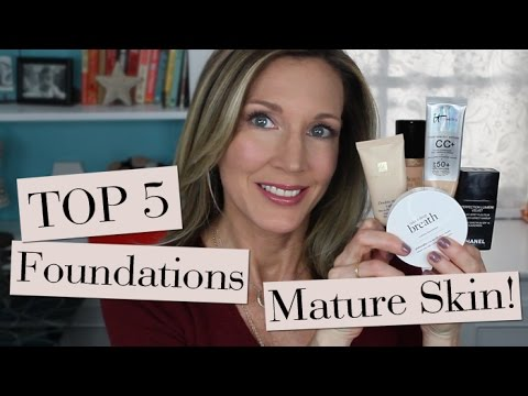 Best liquid foundation for mature skin