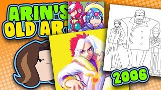 Arin's Old Art: 2006 - Game Grump