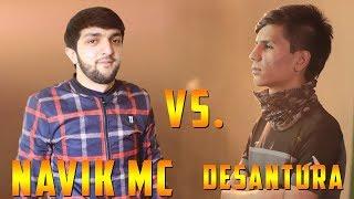 БАТТЛЕРИ СОЛ 2018, Navik MC vs. Desantura (RAP.TJ)