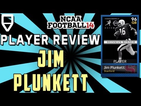 NCAA Ultimate Team Gems - Heisman Jim Plunkett Special