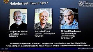 British scientist Richard Henderson among trio awarded 2017 Nobel chemistry prize