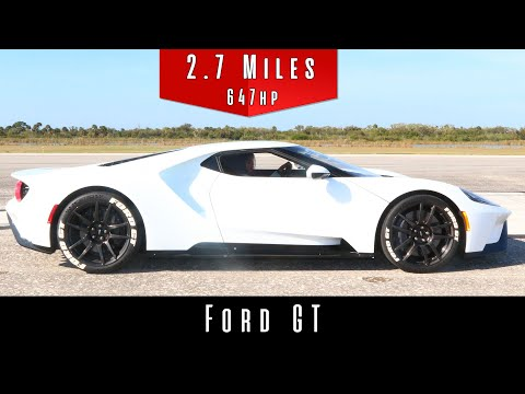 2017 Ford GT (Top Speed Test)