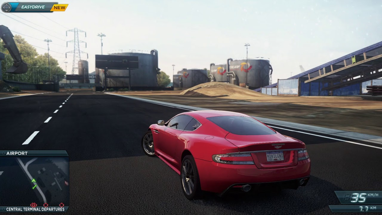 need for speed most wanted 2012 aston martin dbs hp4740s i5-3210m