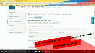 Install & Update all Drivers in any Dell laptop and destop.