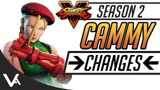 SFV - Cammy Official Patch Notes Explained (Season 2 SF5)