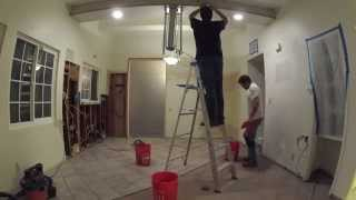 Kitchen Remodeling - Day 5 Of 17 - Opening Passage In Wall, Electric, Drywall,