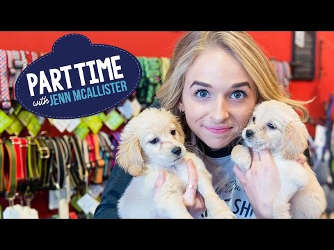 JennXPenn Picks Up Dog Poop | Part Time W/Jenn McAllister