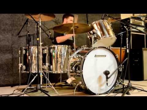 Kick It Like Bonham: A Ludwig Stainless Steel Drums Showcase (Bonham Re-Issue Kit and 1979 Kit)