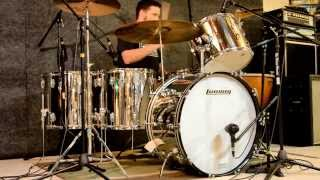 Kick It Like Bonham: A Ludwig Stainless Steel Drums Showcase (Bonham Re-Issue Kit and 1979 Kit)
