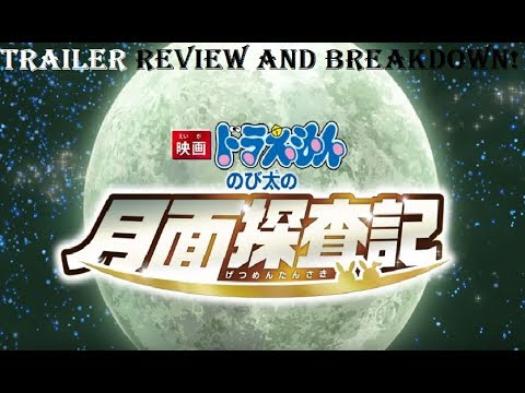 Doraemon 2019 Movie Trailer REVIEW and BREAKDOWN