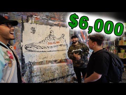GIVING FAN A 1 of 1 $6,000 GIFT!! (YEEZYS)