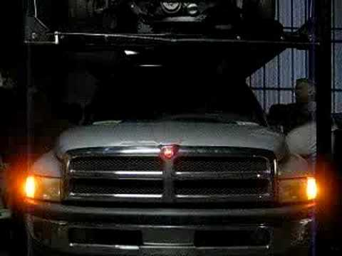 New Ram Truck >> My New Ram LED Emblem - YouTube