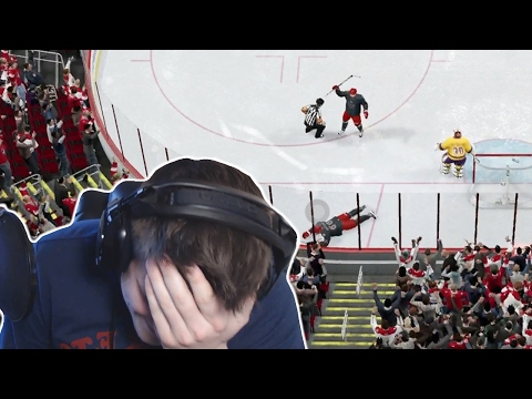 NHL 17   PUTTING MY TEAM ON THE LINE?!
