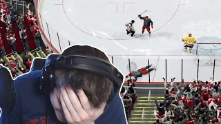 NHL 17 | PUTTING MY TEAM ON THE LINE?!