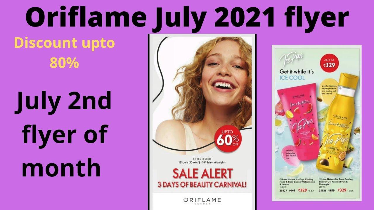 Oriflame July 2021 2nd sales flyer | #2ndJuly2021salesflyer #new #makeuplooks&cooks #oriflameflyer