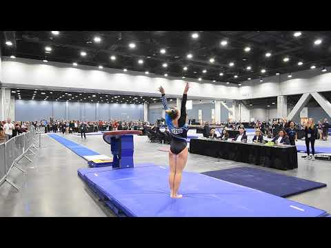 Abigail Johnston - Vault 2 - 2018 Women's Junior Olympic National Championships