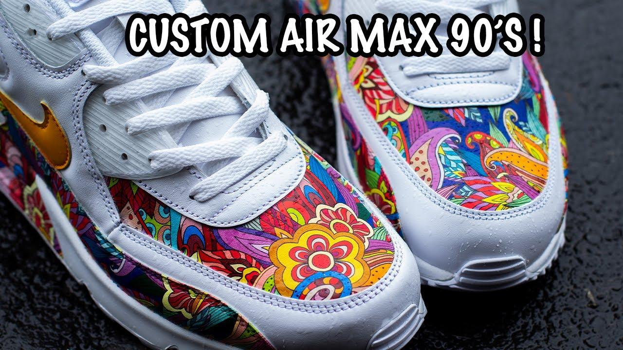 air max customs 2