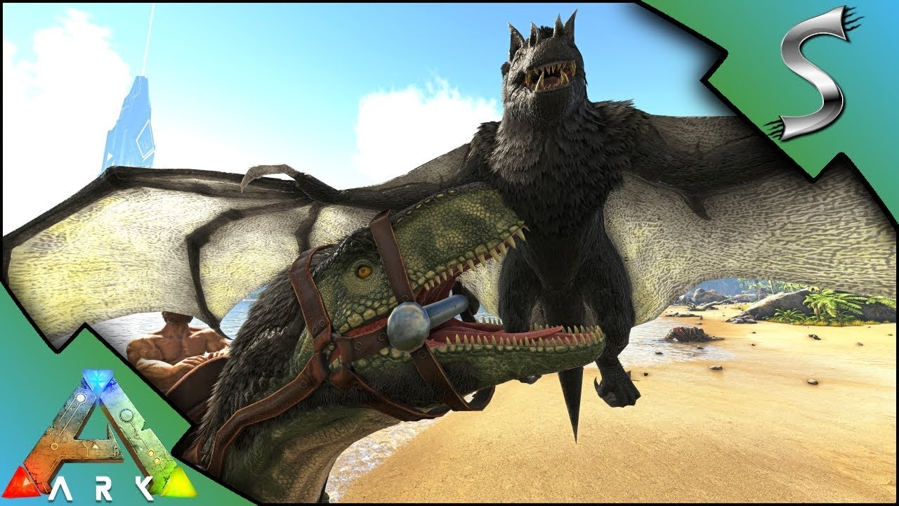 how to carry dinos in ark