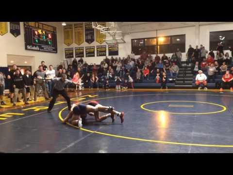 Saucon Valley's Angelo Mahaffey beats Notre Dame's Blake Daniel in OT