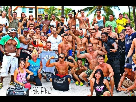 1st Annual Barstarzz Miami Pull Up Jam (Freestyle Calisthenics)