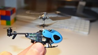 QS5013 Micro Helicopter FLIGHT test
