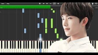 微微一笑很倾城 《杨洋》 A Smile is Beautiful OST - Love O2O (Piano Synthesia+Sheet+Tutorial)
