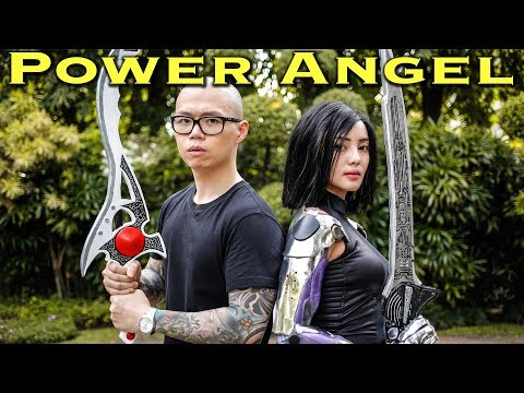 The Power Angel - feat. ALITA [FAN FILM] Power Rangers | Alita: Battle Angel