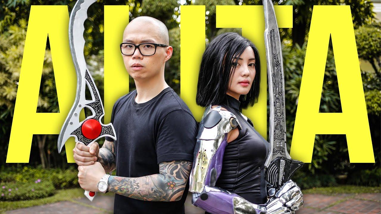 The Power Angel - feat. ALITA [FAN FILM] Power Rangers | Alita: Battle Angel