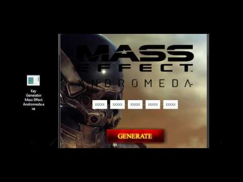Mass Effect Andromeda - Crack, Activation Code, CD Key, Product Key, CD Key Generator