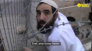 Filistin Bayrağını İndirmeye Çalışan Siyanist Yahudi Zihniyeti