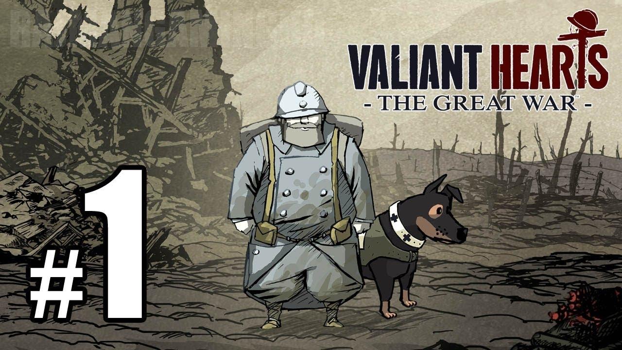 Begin Valiant Hearts The Great War Pc 1 Youtube