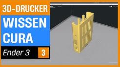 Creatlity Ender 3 - Woher bekomme ich 3D-Modelle und kurze CURA Einführung (Ender 3 Serie 3)