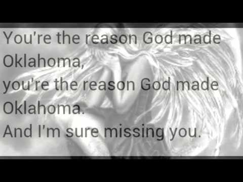 Your the reason god made Oklahoma