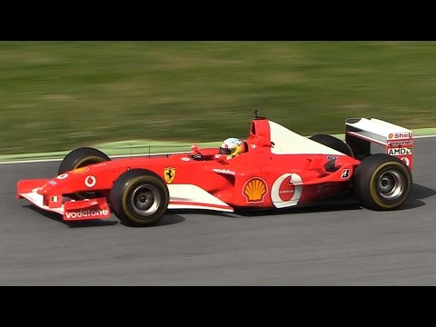 Ferrari F1 V8 & V10 Engine Sound - Ultimate F1 Audio Recordi