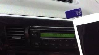 iPad Mini Car Radio Adapter - aFM instructional -Adele