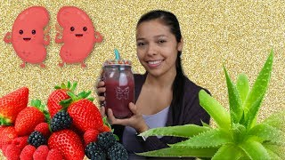 SUPER BERRY JUICE!! IMPROVE KIDNEY FUNCTION NATURALLY!!