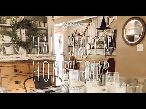 Halloween Home Tour 2019   AT HOME WITH JILLIAN