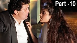 Saajan Ki Baahon Mein (1995)   Rishi Kapoor, Raveena Tandon, Tabu   Hindi Movie Part 10 of 10   HD