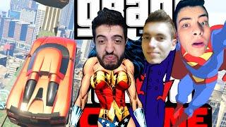 GTA V Online - VOANDO NA RAMPA SUPERMAN! Com LiMpão e Patife!