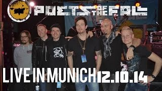"""Poets of the Fall. Live in Munich. 12.10.14. """"Brigher Than the Sun"""""""