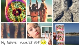 My Summer Bucketlist 2014 ☼ Thumbnail