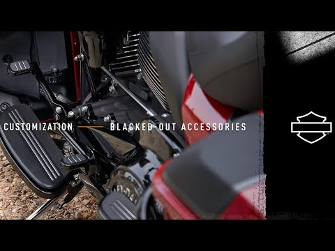 Customization - Blacked Out Styling | Harley-Davidson
