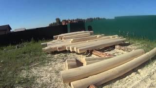 видео Проект бани из бруса 5х6 1 этаж для строительства под ключ