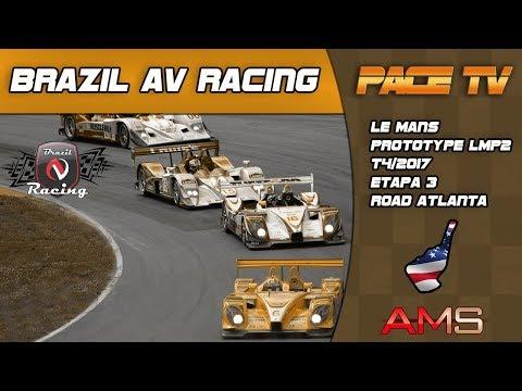 BRAZIL AV RACING - LE MANS LMP2 - T4/2017 - ETAPA 3 - ROAD ATLANTA