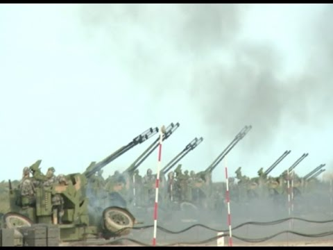Air defense Drill Conducted in China