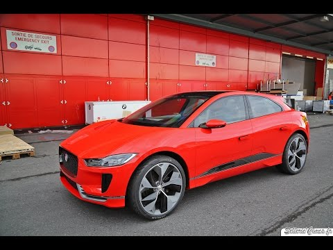 Geneva Motor Show 2017 - Jaguar I-Pace Concept