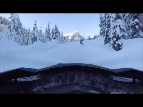 Snowmobiling in Whistler!