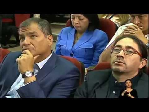 Cátedra Magistral del Presidente Rafael Correa (Impactara tu Vida)