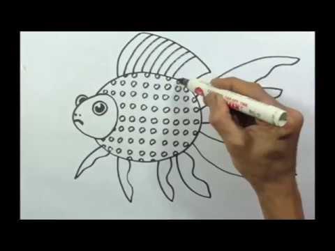Full Download Cara Menggambar Ikan Mas Koki Dari Angka 3 Untuk Anak